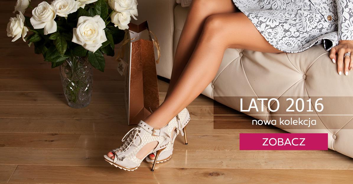Nowa kolekcja LATO 2016 obuwie damskie