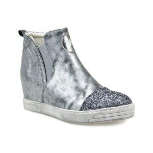 Sneakersy  KARINO 1684/78-P szaro-czarne