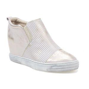 Sneakersy J.WOLSKI 478 białe złote