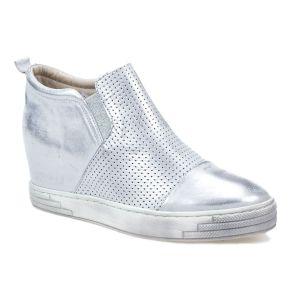 Sneakersy J.WOLSKI 478 biały srebrny