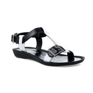 Sandały KARINO 1693/094-P czarno białe