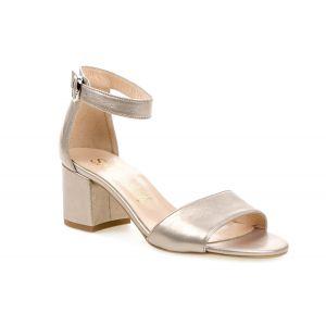 Sandały SALA 5092/1099 platynowe
