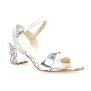 Sandały J.WOLSKI 061 srebrne