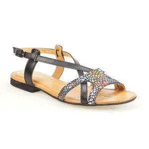 Sandały Maciejka 05186-01 czarne