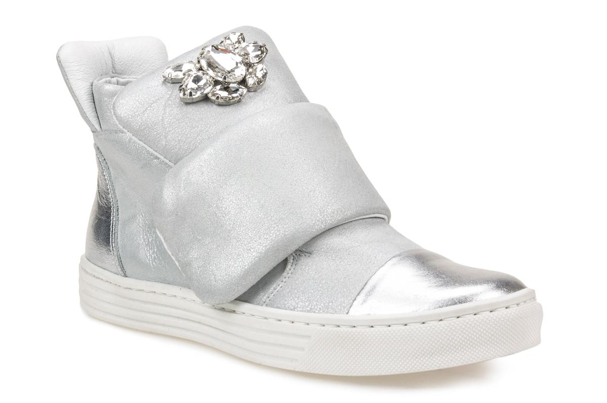 Sneakersy CARINII B3522 srebrne