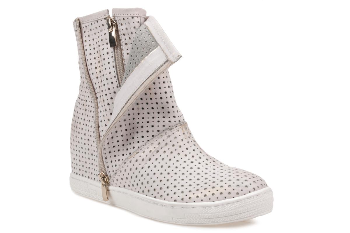 Sneakersy  J.WOLSKI N005 złote