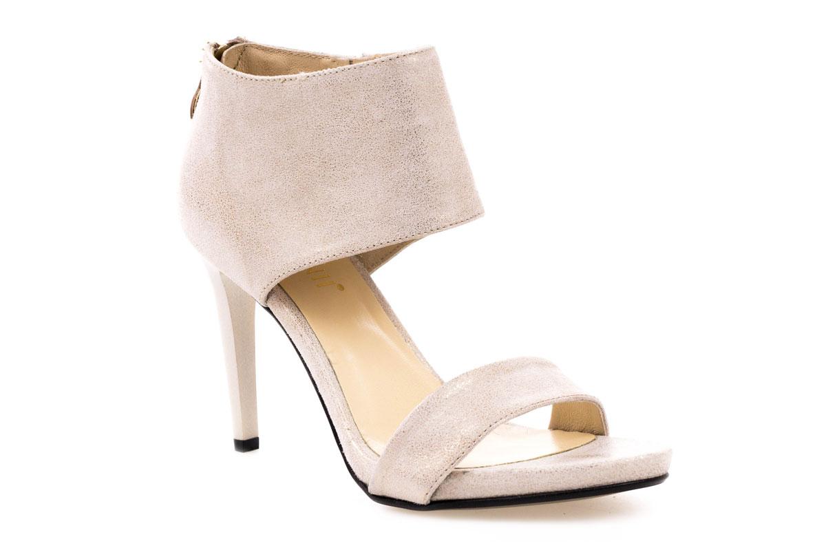 Sandały  CARINII B3710 złote