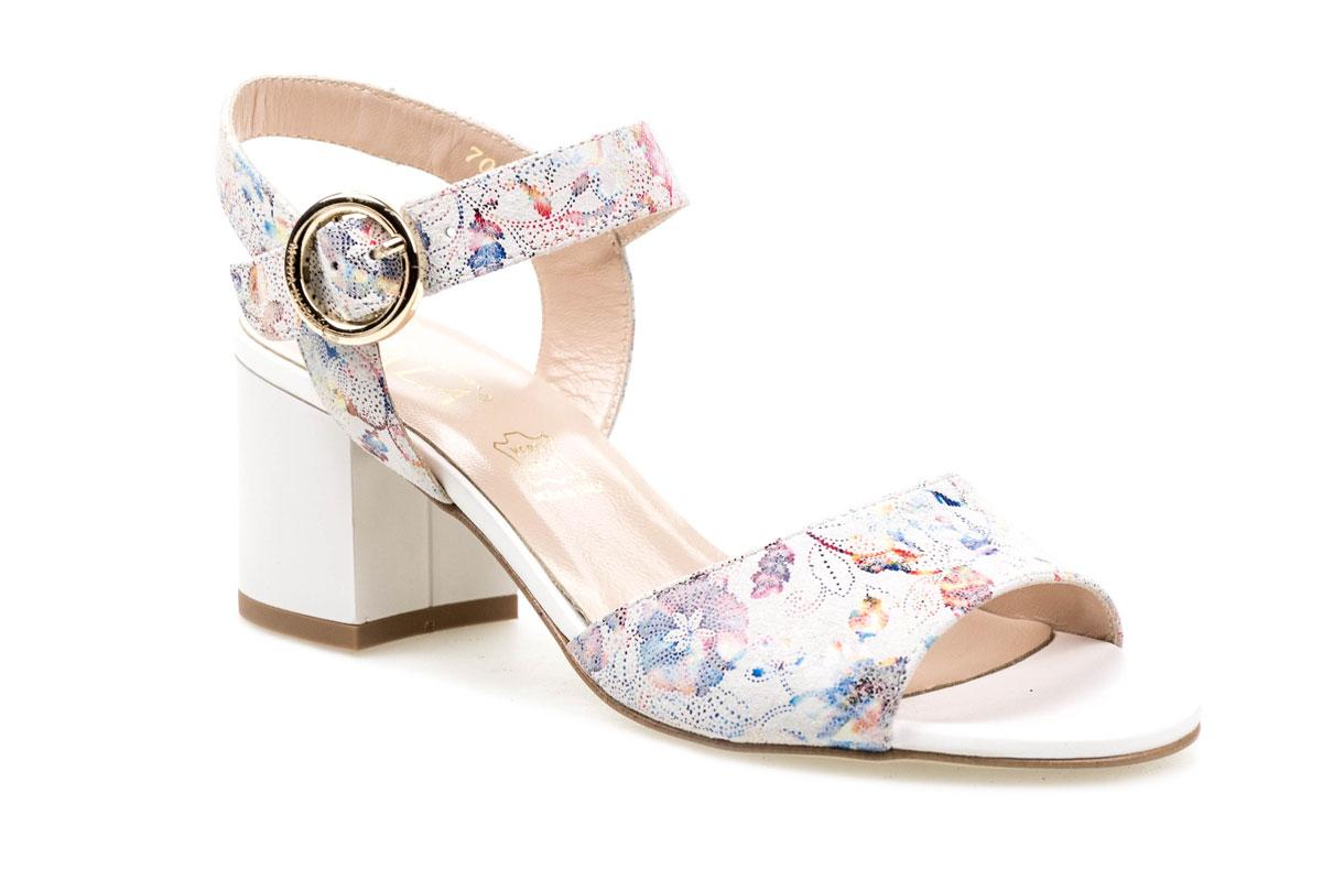 Sandały SALA 70971292 kolorowe kwiaty