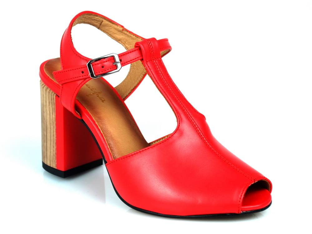 Sandały Maciejka 04117-08 czerwone
