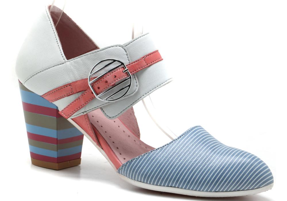 Sandały Maciejka 3951 kolorowe