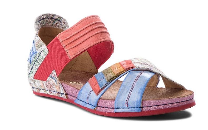 Sandały Maciejka 03375-38 kolorowe