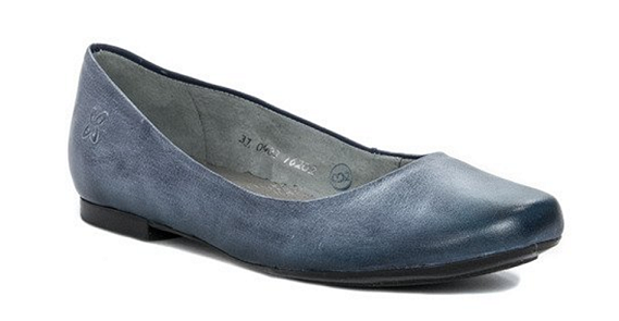 Balerinki  Maciejka 903-47 jeans