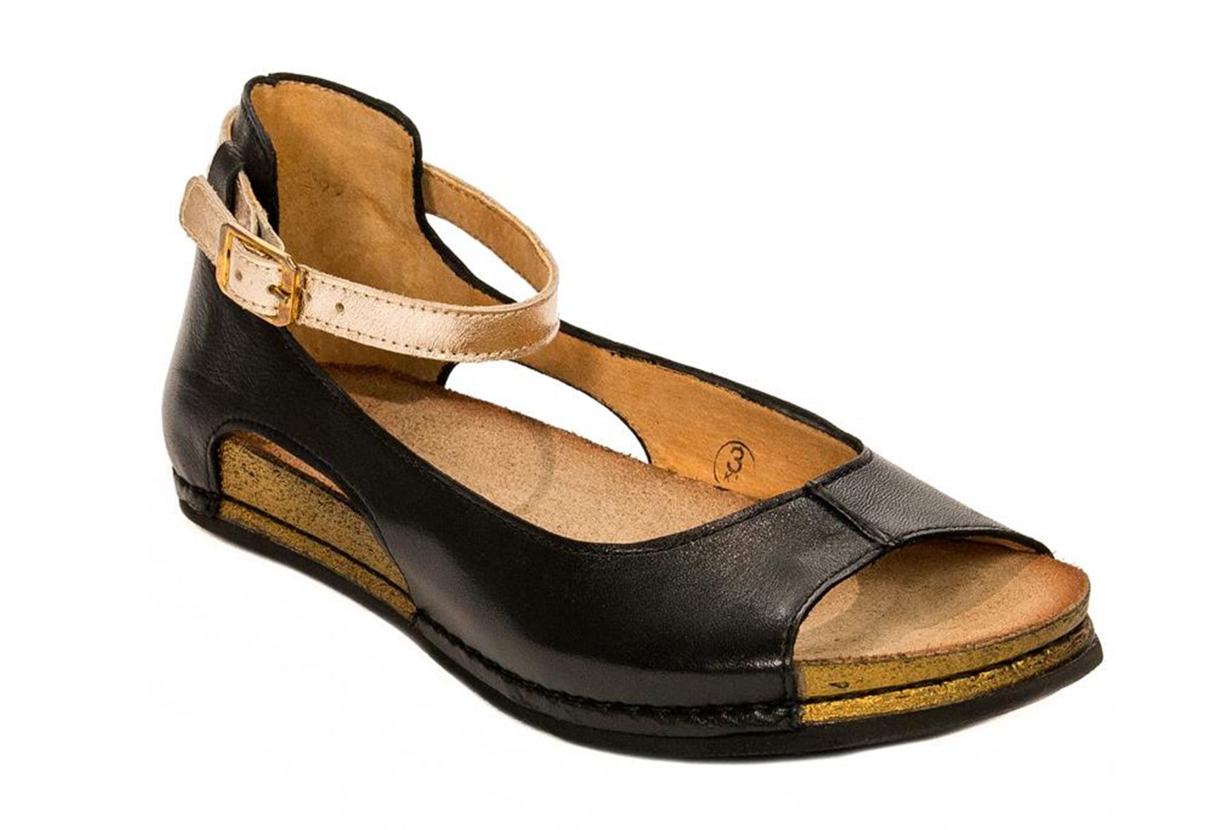 Sandałki  Maciejka 03600-01 czarne