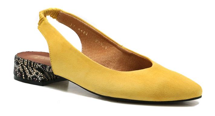 Półbuty Maciejka 04482-07 żółte