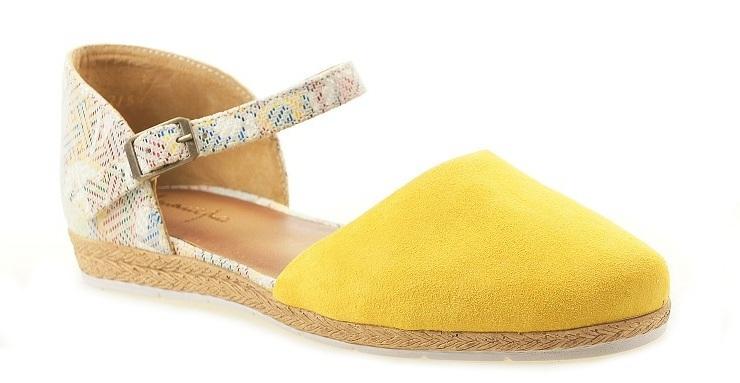 Sandałki  Maciejka 04536-07 żółte