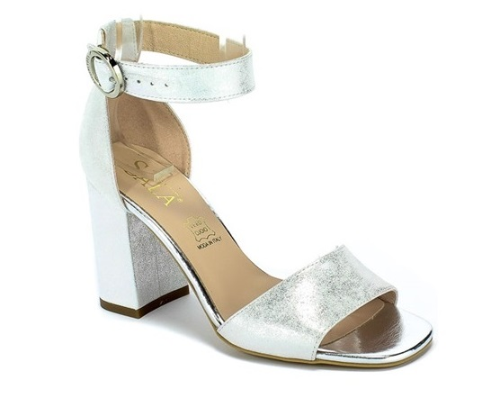 Sandały SALA 7048 1089 srebrne