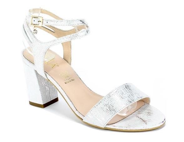 Sandały SALA 9206 1694 srebrne